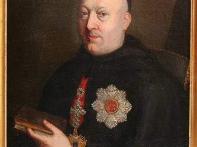Mais que fait Dom Spirlet, abbé de Saint-Hubert, à                                                   Luxembourg?